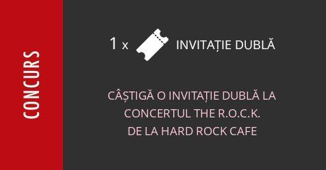 Concurs: câștigă o invitație dublă la concertul tribut AC/DC cu The R.O.C.K. la Hard Rock Cafe