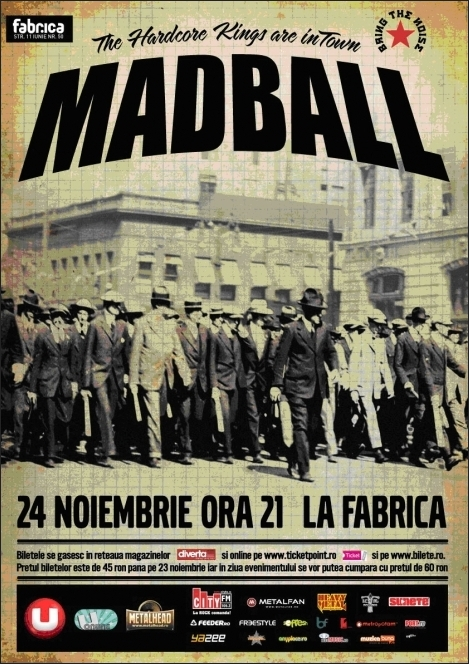 Madball in Club Fabrica
