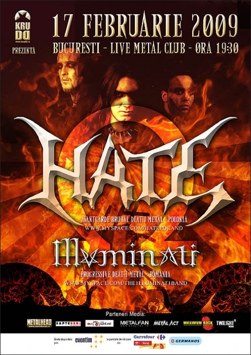 HATE in Live Metal Club