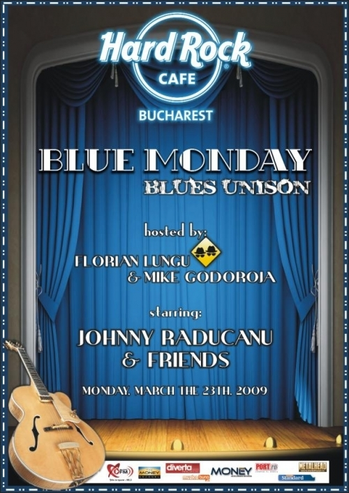 Concert JOHNNY RADUCANU la Blue Monday