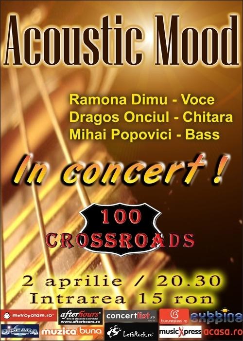 Acoustic Mood in club 100 Crossroads