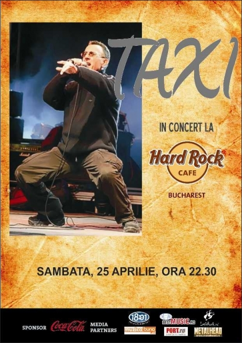 TAXI live in Hard Rock Cafe