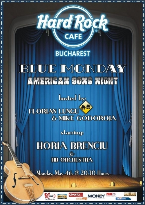 American Song Night cu Horia Brenciu in Hard Rock Cafe