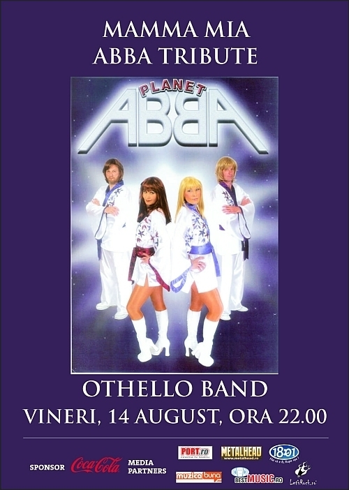 ABBA Tribute cu Othello Band in Hard Rock Cafe