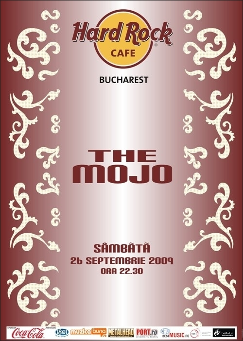 Concert al trupei THE MOJO in Hard Rock Cafe