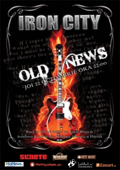 Rock n' ROll si Blues in Iron City cu Old News
