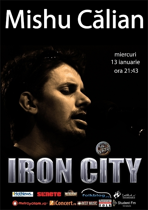 Concert Mishu Calian in club IRON CITY