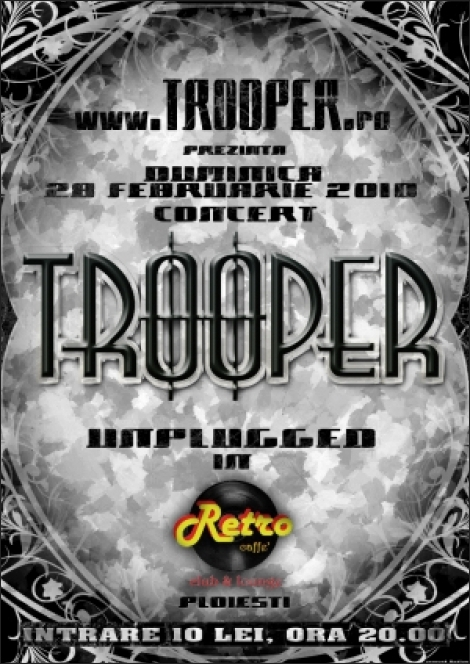 Concert Trooper in Ploiesti
