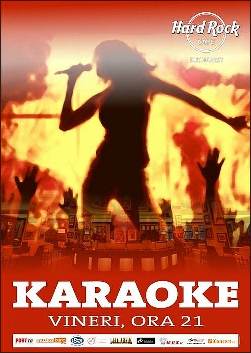 KARAOKE PARTY in Hard Rock Cafe 19 februarie