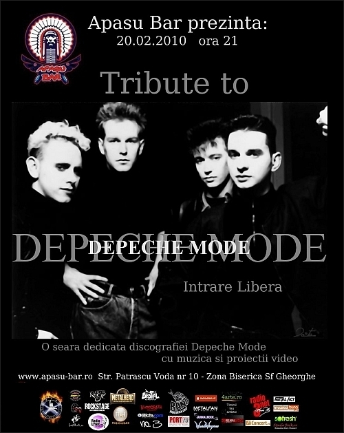Tribute to Depeche Mode in Apasu Bar