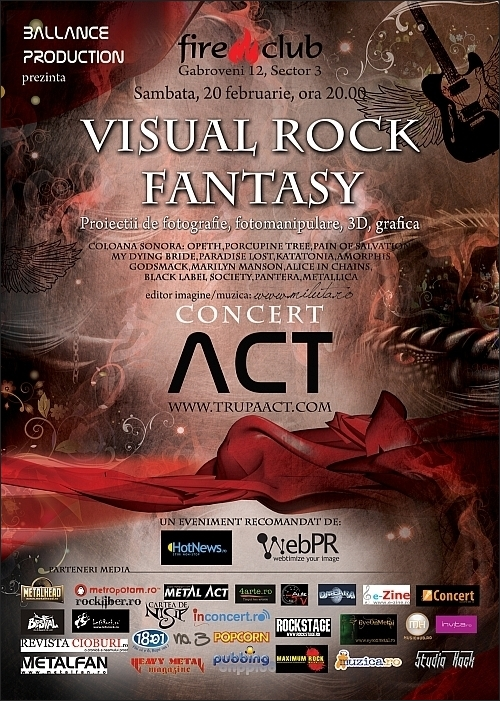 VISUAL ROCK FANTASY editia a II-a