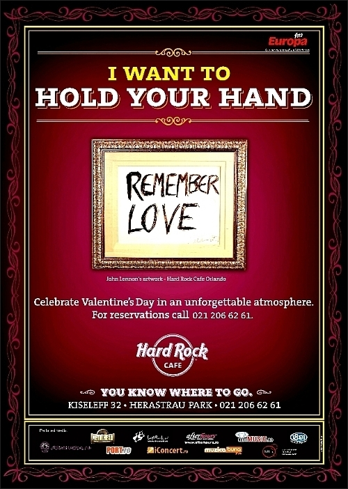 Valentine's Day in Hard Rock Cafe