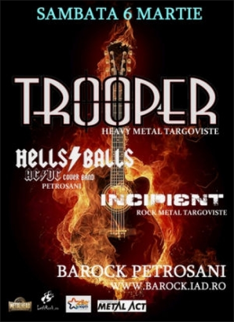 Concert Trooper in Petrosani