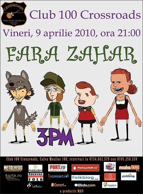 Concert FARA ZAHAR in club 100 Crossroads