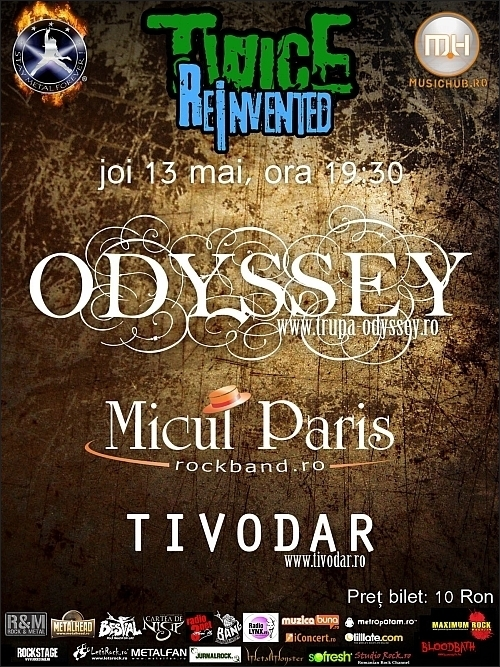Concert Odyssey, Micul Paris si Tivodar in club Twice