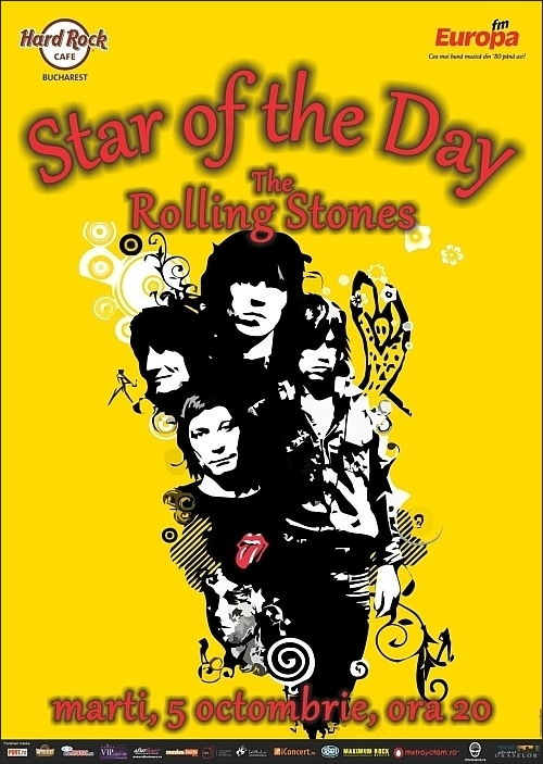Star of The Day - The Rolling Stones in Hard Rock Cafe