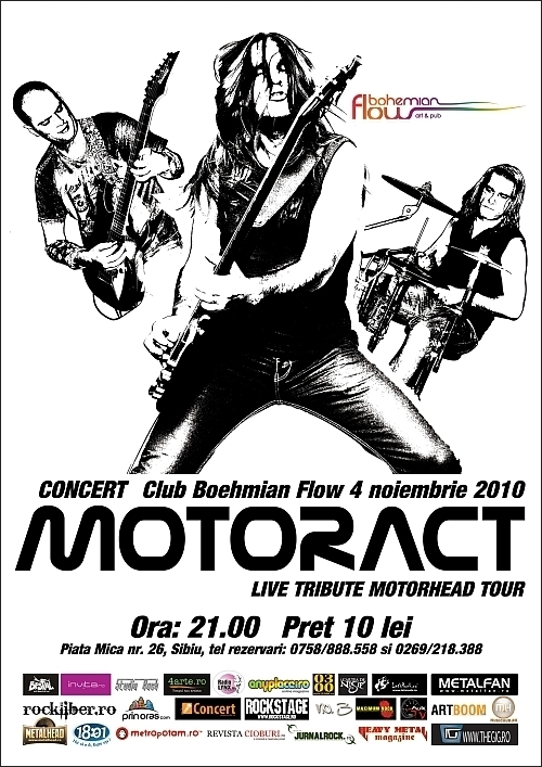 Concert MotorAct in Boehmian Flow - turneu national