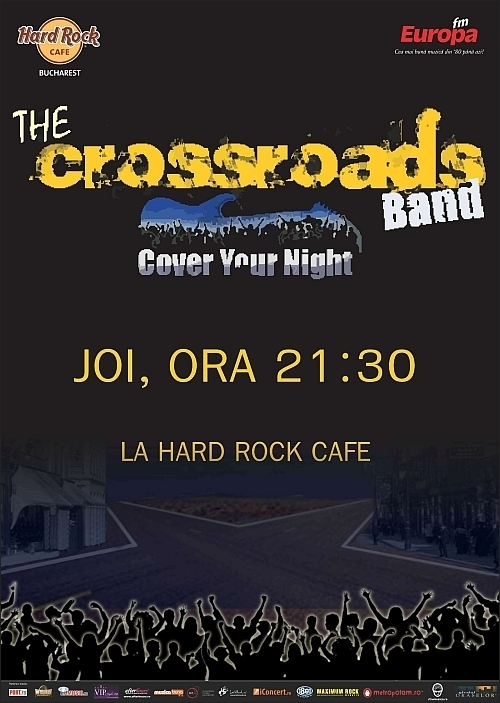 Concert The Crossroads Band in Hard Rock Cafe in 18 noiembrie 2010