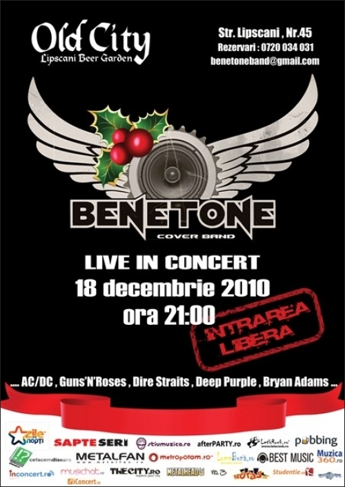 Concert al trupei Benetone Band in Old City