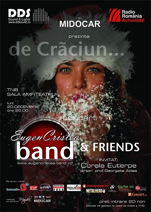 Concert de craciun EUGEN CRISTEA BAND & FRIENDS la TNB