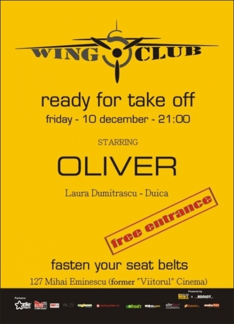 Ready For Take Off cu Oliver in Wings Club