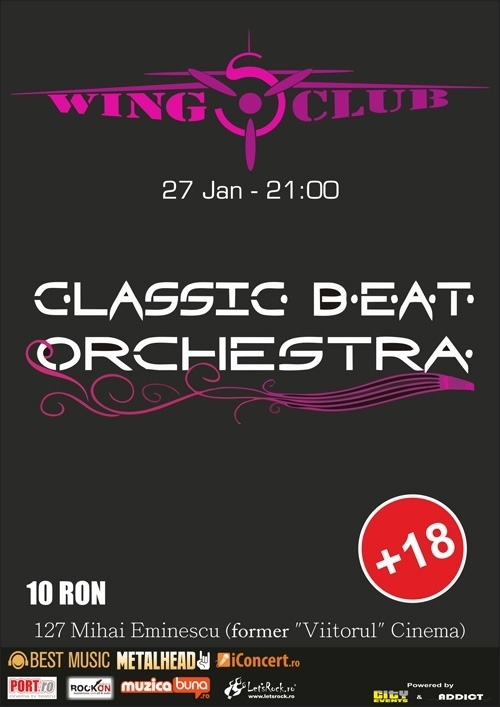 Concert Classic Beat Orchestra in Wings Club