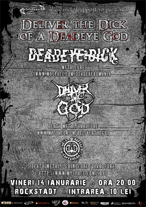 Concert Deadeye Dick, Deliver The God si Days Before Disappearance in Rockstadt