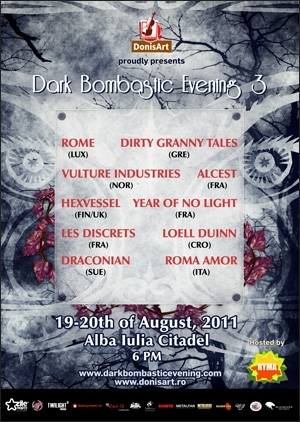 Year of No Light si Loell Duinn sunt inca doua tupe confirmate la Dark Bombastic Evening 3