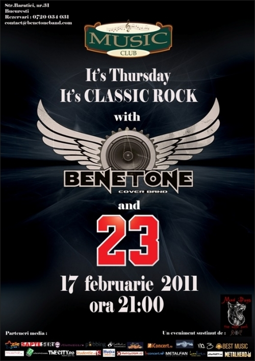 Classic Rock with BENETONE Band in Music Club