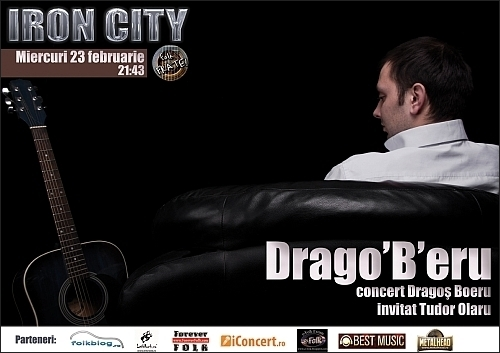 Concert Dragos Boeru si Tudor Olaru in club Iron City