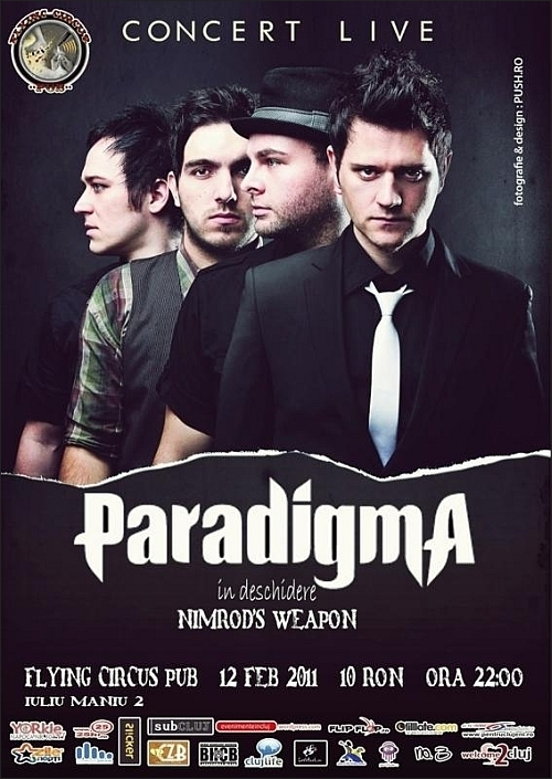 Concert Paradigma si Nimrod's Wapon in Flying Circus Pub