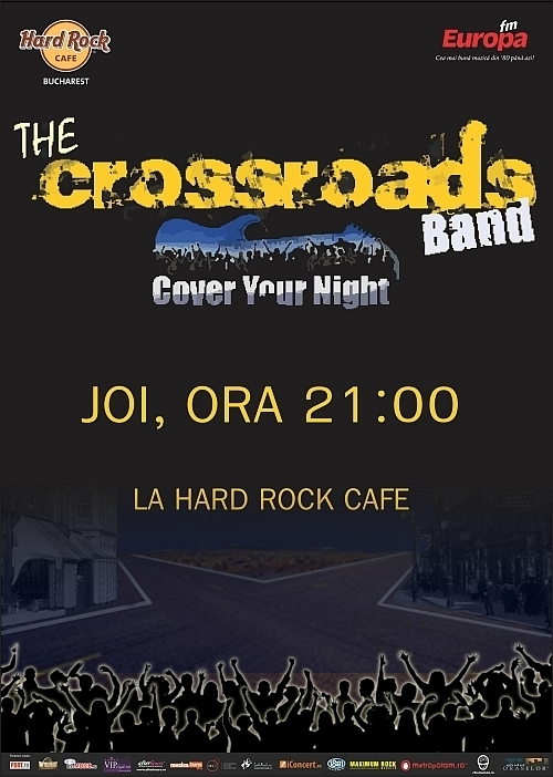 Concert The Crossroads Band in Hard Rock Cafe in 24 februarie 2011