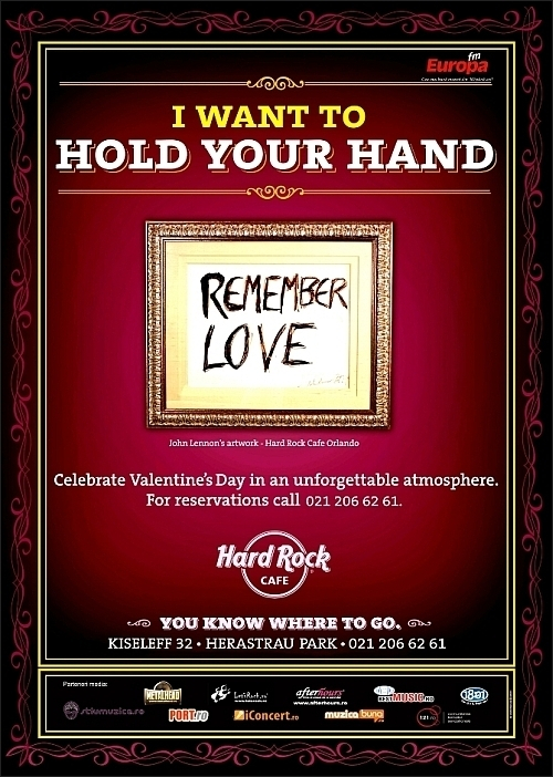 Lovesongs by The Crossroads - Valentine's Day in Hard Rock Cafe