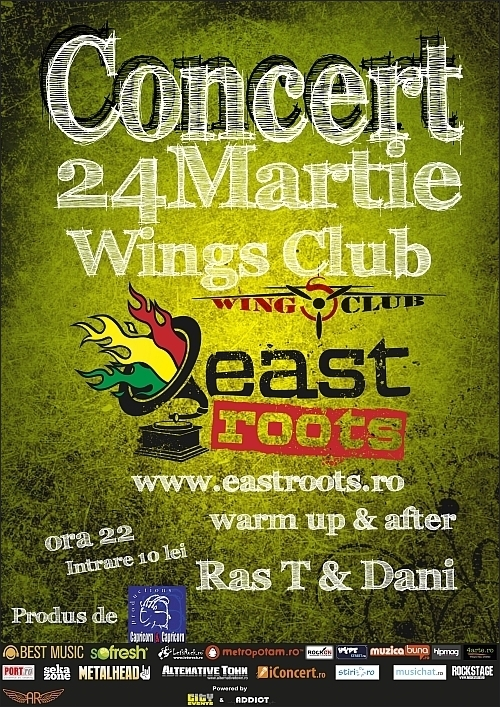 Concert East Roots in Wings Club