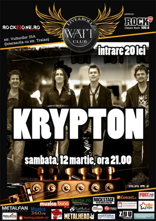 Concert Krypton in Watt Club