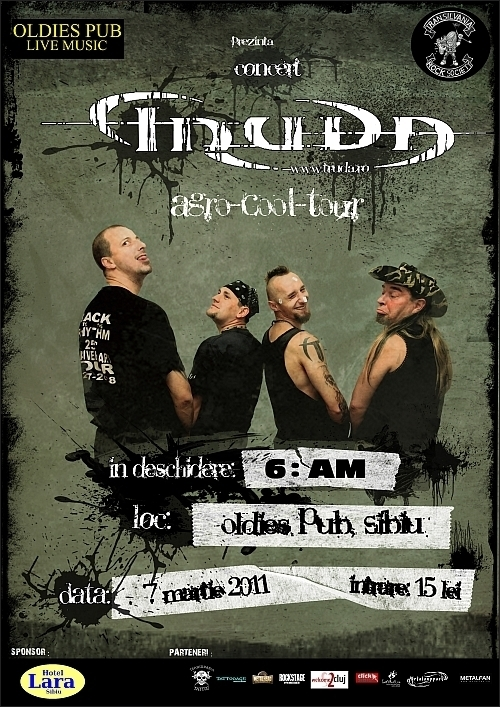 Concert Truda si 6:AM in Oldies Pub din Sibiu