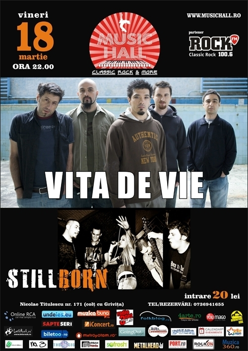 Concert Vita de Vie in Music Hall