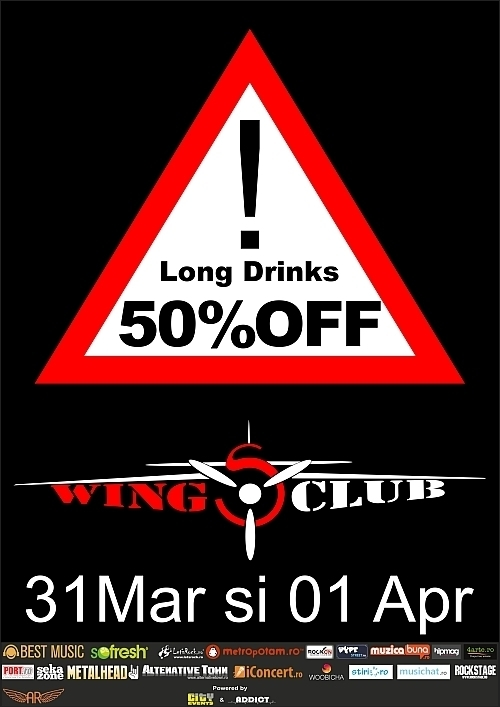 Cursa spre distractie in Wings Club