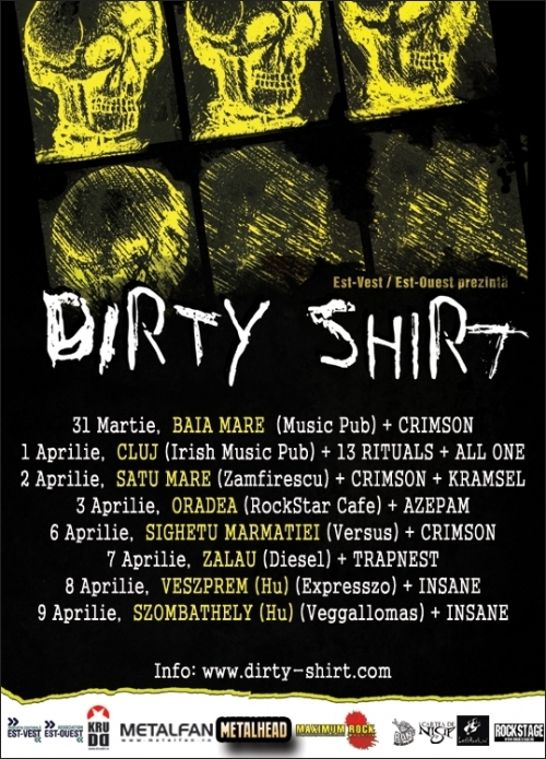 Dirty Shirt Tour 2011