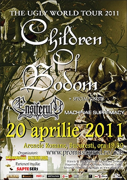 Children of Bodom canta la Arenele Romane