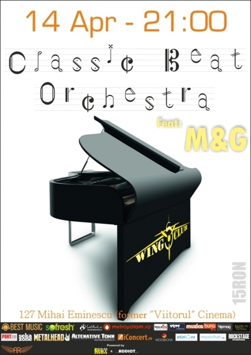 Concert Classic Beat Orchestra si M&G in Wings Club