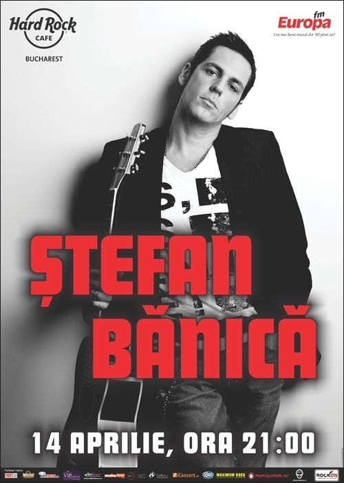 Concert Stefan Banica in Hard Rock Cafe
