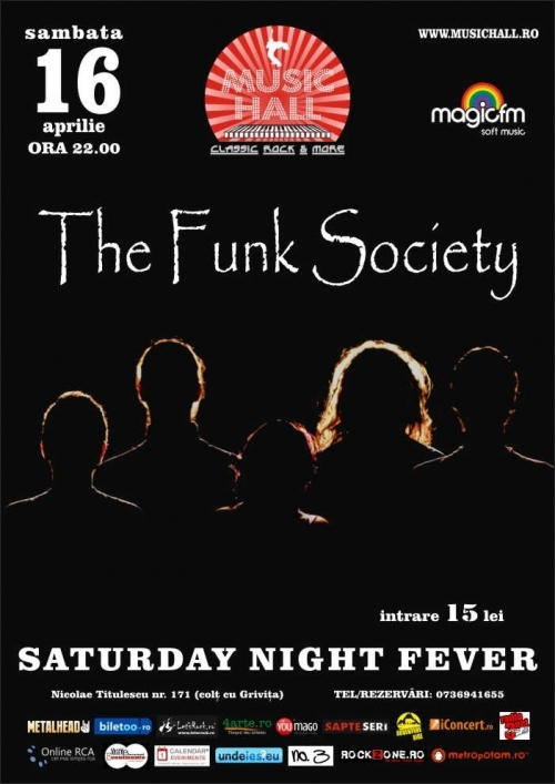 Concert The Funk Society in Music Hall