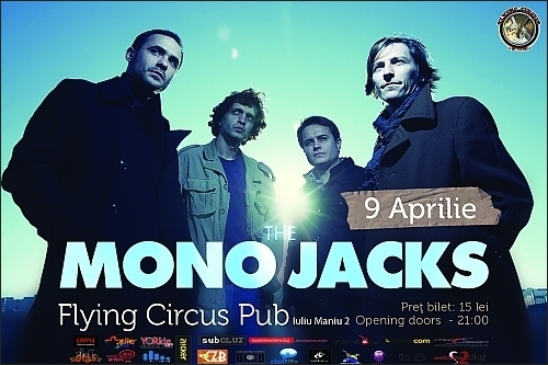Concert The Mono Jacks in Flying Circus Pub din Cluj-Napoca
