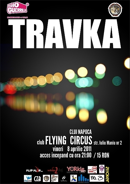 Concert Travka in Flying Circus Pub din Cluj-Napoca