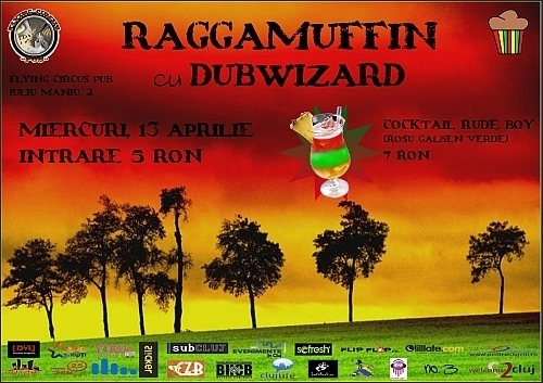 Raggamuffin cu Dubwizard in Flying Circus Pub