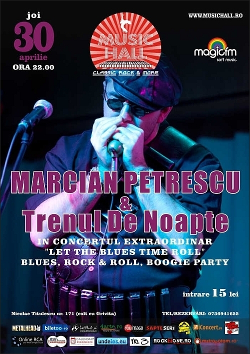 Saturday Night Fever cu Marcian Petrescu si Trenul de noapte in Music Hall