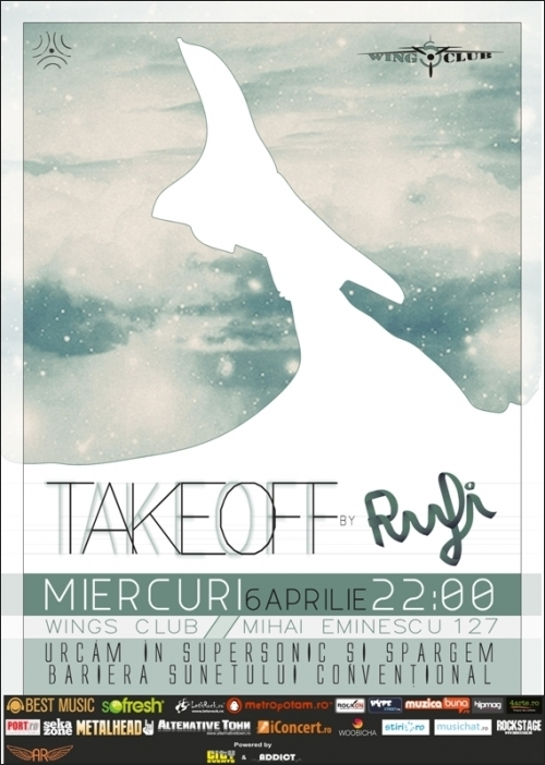 TAKEOFF cu Rufi in Wings Club