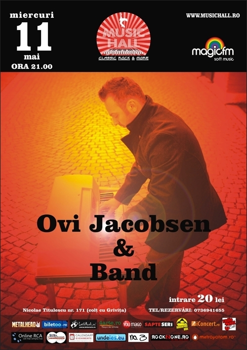 Concert OVI JACOBSEN & BAND in Music Hall Club