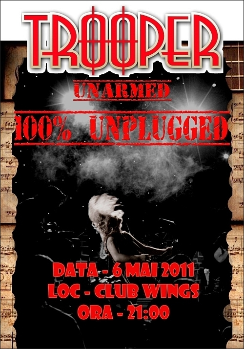 Concert Trooper 100% Unplugged in Wings Club